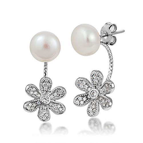 Freshwater Pearl Earrings in Sterling Silver - RSE2419A ()
