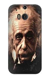 S0145 Albert Einstein Case Cover for HTC ONE M8