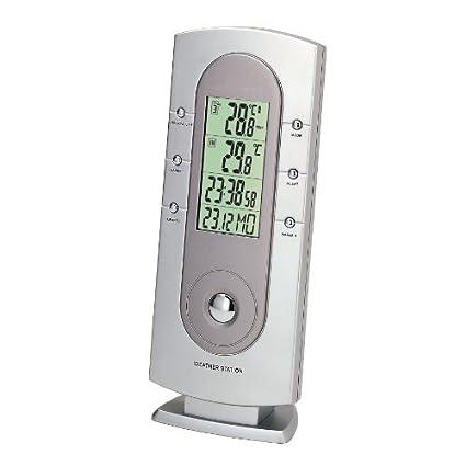 H-B Estación meteorológica Durac de instrumento con alarma de memoria y temperatura máxima / mínima,