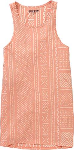 Burton Jersey Hooded (Burton Women's Carta Tank Hoodie, Rose Quartz Bambara, Small)