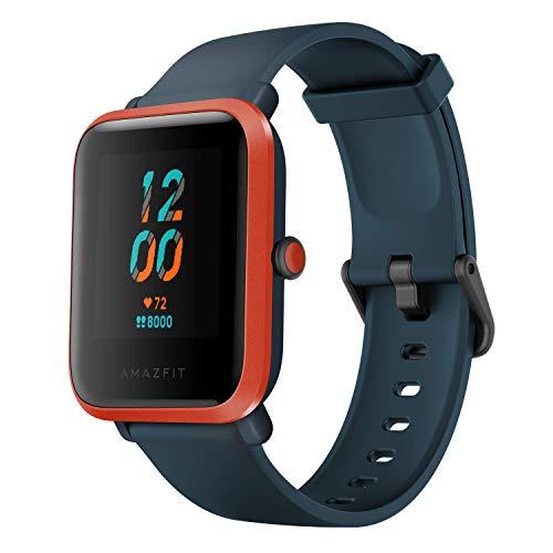 Amazfit Bip S Smartwatch Reloj Inteligente Fitness Rastreador con Monitor cardíaco y Gimnasia batería útil de 40 días duración Sumergible 5 ATM Bluetooth 5.0 / BLE Andriod iOS