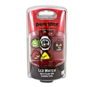 Angry Birds LCD with Slide-On Characters Watch Collection