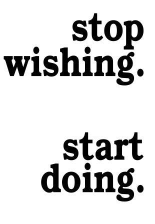 Stop Wishing Start Sie Workout Fitness Motivation Gym Life Love Haus Passt Zusammen Wandtattoo Spruch Vinyl Aufkleber Aufkleber Art Decor Diy