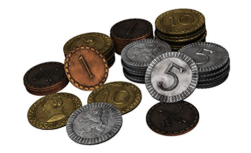 Clans of Caledonia Metal Coins by Karma Games