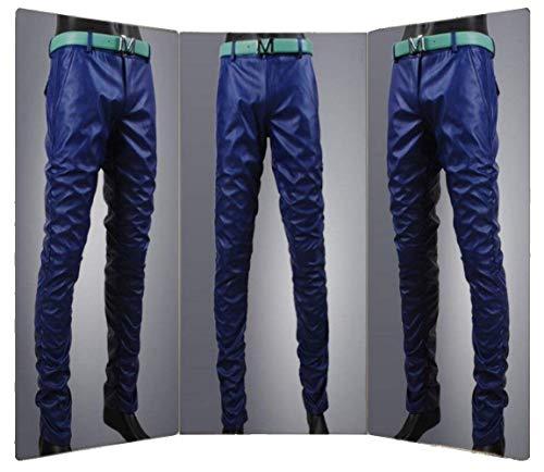 Skinny Mode In Tubo A Pantaloni Ts003de Pelle Bassa Blau Di Jeans Da Slim Uomo Vita Marca Sintetica P0qwCv0