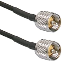Quality RG-8x Mini-8 PL259 - 18-Ft Cb Antenna Cable | RG8x Coax with UHF Connectors Made in the U.S.A. by MPD Digital (TM)