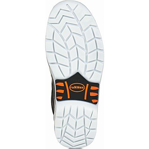 ruNNex 5100-48 Sandale de sécurité TeamStar S1 Taille 48 Noir/Orange