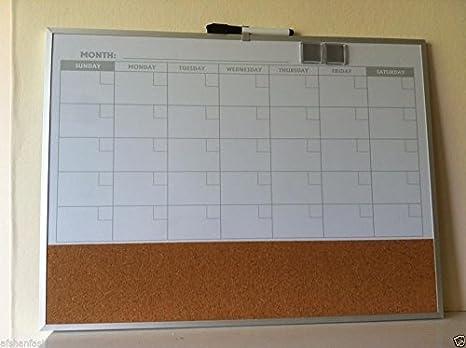 Bacheche Per Ufficio : Month combo planner mensile organiser memo bacheca per ufficio