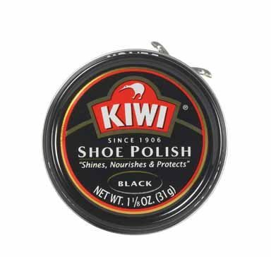 Kiwi 10111 Shoe Paste Polish 1-1/8 Ounce, Black (Pack of 36)