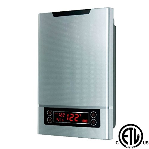 """ALFA WiseWater Tankless Water Heater 25.6kW 3/4""""NPT for D..."""