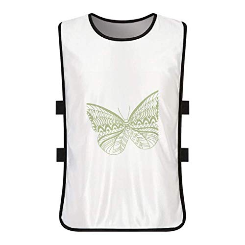 Butterfly Clothing Kite (DIYthinker Green Butterfly Kite White Training Vest Jerseys Shirt Cloth)
