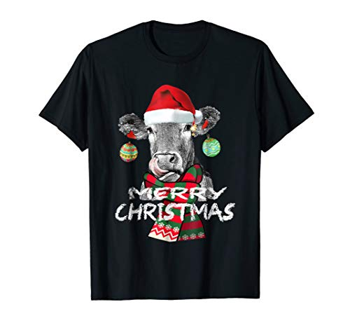 (Mooey christmas Heifers Cow Christmas lights)