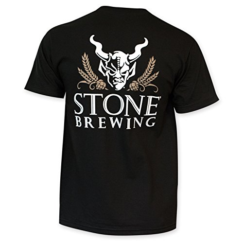 Brewing Co T-shirt - Stone Brewing Co. Men's Arrogant Bastard 4.0 T-Shirt L
