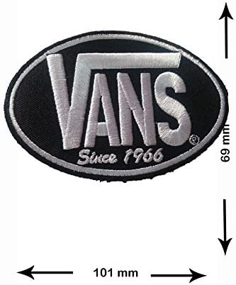 badge a coudre vans