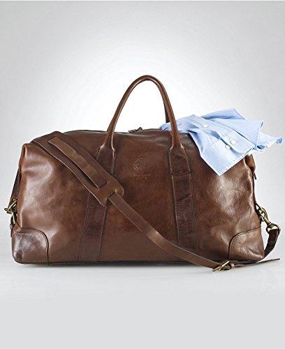 a63c0dac17 POLO RALPH LAUREN Leather Duffle Bag  Amazon.ca  Luggage   Bags