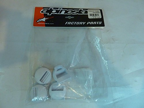 Alpinesstars TECH-8 09-10 Receiver Buckle White 25CCT8N - Signed Buckle