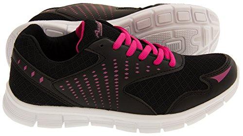 Annabelle Mujer Negro Zapatos Para Correr EU 37 Fbf6h8jB4H