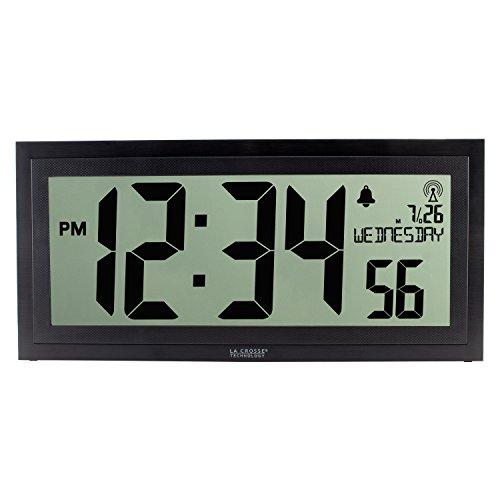 La Crosse Technology BBB87276 Digital Clock, Black
