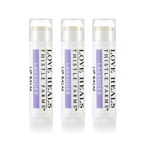 Thistle Farms | Natural Lip Balm & Moisturizer Handcrafted by Women Survivors (Lavender)