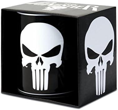 Marvel Comics – Taza de cerámica (– The Punisher – Logo – Caja de Regalo: Amazon.es: Hogar