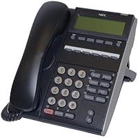 NEC DTL-6DE-1 (BK) - DT300 - 6 Button Display Digital Phone Black