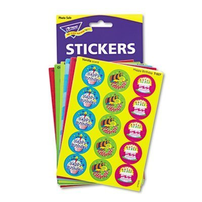 Stinky Stickers Variety Pack, Holidays and Seasons, 432 Pack, Sold as 1 Package by Trend Enterprises Inc