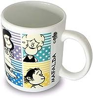 Amazon.com: Mafalda 11oz Coffee Ceramic Mug Taza Argentina ...