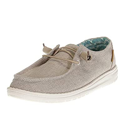 Hey Dude Womens Wendy Chambray Beige