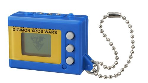 Digimon Japanese XROS Wars Mini Virtual Pet Greymon Blue