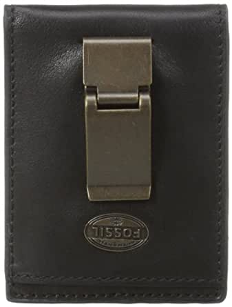Fossil Men's Estate Id Bifold FPW, Black, One Size