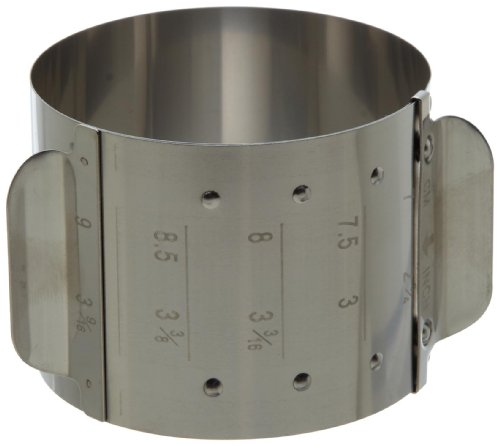 e Ring Mold, 5 Sizes in 1 Mold, Stainless Steel, 2.15-Inches High ()