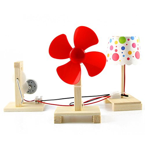 50%OFF Delinx STEM Building Toy DIY Project Hand Crank Power