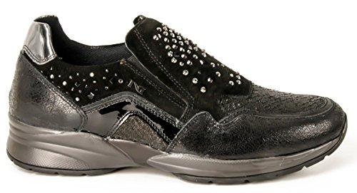 Nero Giardini A616033D/100, sneaker donna, nero