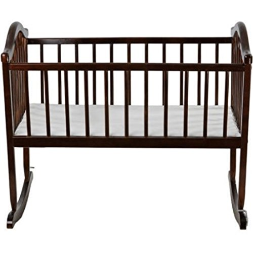 Espresso Attractively Designed Rocking Cradle by Dreaming