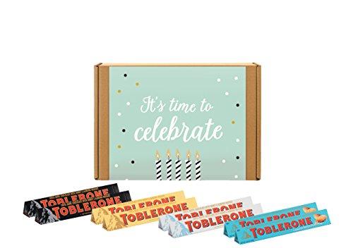 Candy Bar Variety Assortment Pack (Happy Birthday) (Happy Birthday Dark Chocolate)