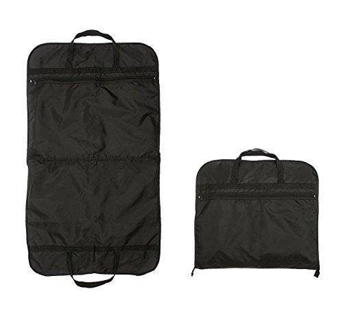 rolling garment bag canvas - 8