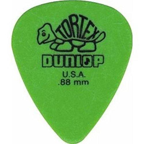 (2014 Dunlop Dunlop Tortex .88mm Standard Picks, Green, 12 Pack)
