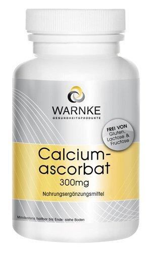 Ascorbato de calcio 300mg – Vitamina C gástrica – 100 pastillas – artículo vegetariano – productos