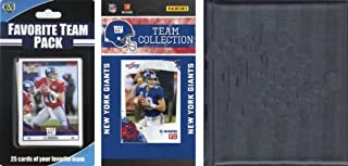 NFL New York Giants Licensed 2010 Score Team Set and Favorite Player Trading Card Pack Plus Storage Album (B000I008H2) | Amazon Products