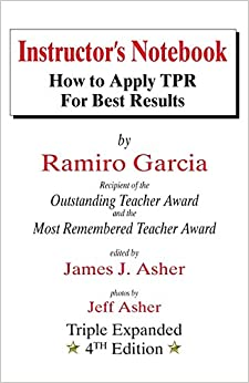 Book Instructor's Notebook: How to Apply Tpr for Best Results by James J. Asher (1-Jun-1996)
