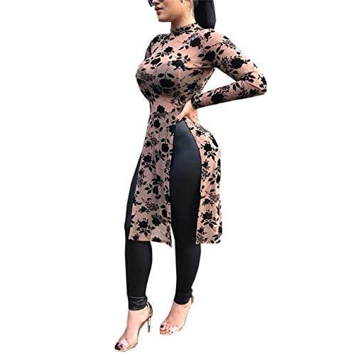 Damen Mode Rundhals Kurzarm Taschen Lässig Lose Bluse Tops Shirt Kleid Oberteile