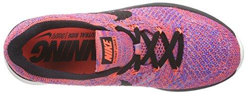 Nike Women's Flyknit Lunar3 Running Shoes Orange (Hyper Orange/Black/Racer Blue) sale 2014 newest JwExuh