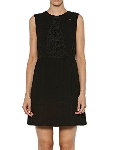 Intropia Hoss Mini Kleid Spitze mit Schwarz Damen 6xOqw4Uxd
