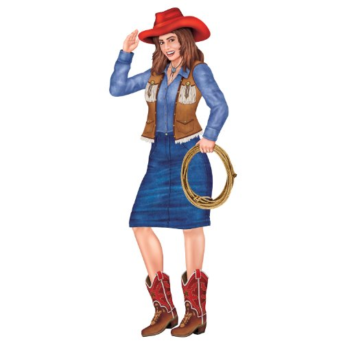 Cowgirl Accessories (Jointed Cowgirl Party Accessory (1 count) (1/Pkg))