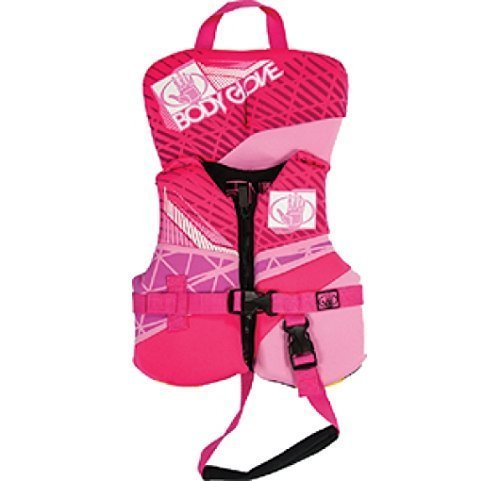 Vest Neo Infant (Body Glove Infant Phantom Neo Hot Pink 16224ihotpnk)