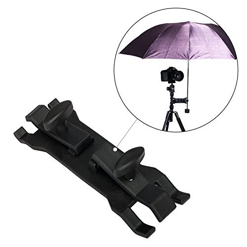 Table Clamp Umbrella (Selens Camera Umbrella Holder Clip Clamp Bracket Support for Tripod)