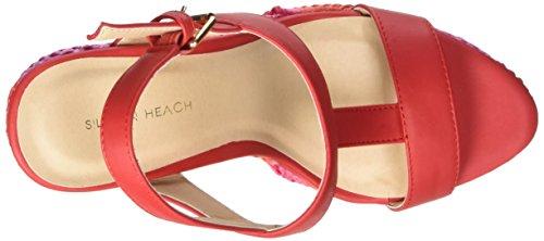 Silvian Heach Damen Schuhe Shoes Altamura, Rot, 41