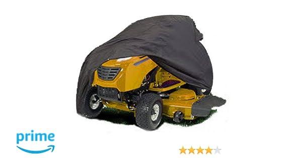 Funda protectora para tractor cortacesped impermeable y resistante tamaño 3XL: Amazon.es: Hogar