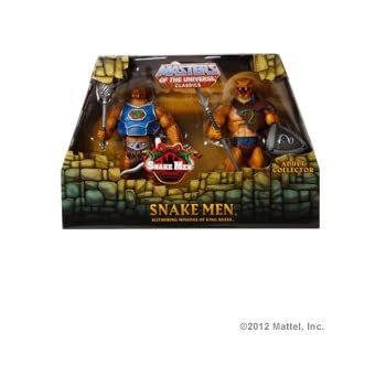 40eaf19562b Amazon.com  Masters Of The Universe Classics Snake Men 2-Pack  Toys ...