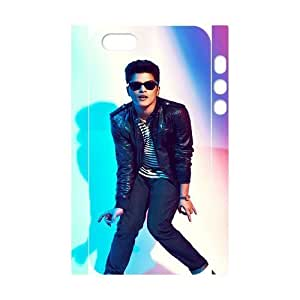 C-EUR Cell phone Protection Cover 3D Case Bruno Mars For Iphone 5,5S